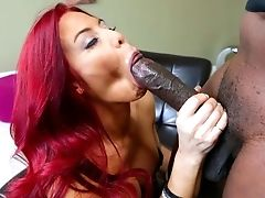 Pretty Mummy Ryder Skye With Lengthy Crimson Hair Wraps Her