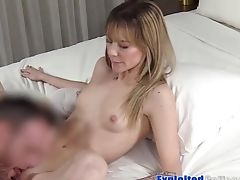 Skinny Fledgling With Diminutive Tits Ivy Very First Time Fucked On Web Cam