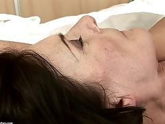 Matures With Bubbly Sub Grinds Lucky Dudes Hard Cane With Her Lips