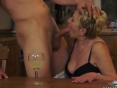 Matures Exposes Her Horny Parts While Getting Her Impatient Poked Good And Hard By Horny As Hell Man