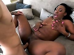 Cher Adele Parts Her Gams To Fuck Her Thirsty Honeypot With Equipment
