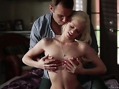 Teenager Has Excellent Dick Blowing Practice And Widens It With Hot Bang Friend