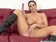 Amazing Pornographic Star Alison Tyler In Exotic Ginger-haired, Onanism Xxx Movie