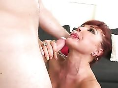 Sandy-haired Vanessa Bella With Bubbly Rump And Shaven Beaver Offers Her Totally Doable Mouth To Hard Dicked Levi Cash
