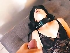 Sexdoll Got Three Money-shots While Tied Up