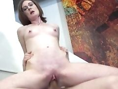 Posh French Lady Secretly Loves A Big Rod Up Her Butt