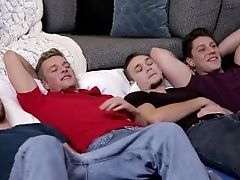 Nextdoorraw All Hunks Sleepover Turns To Bb Orgy!