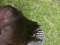 Outdoor Fucky-fucky Fro Your Point Of View With Nubile Aryah May