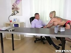 Kayla Green Fucks Her Chief In The Office