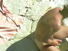 Subordinated Inexperienced Sexy Milky Wifey Humped On The Beach