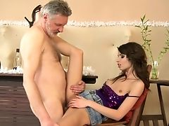 Nubile Betty Stylle Gets Satisfaction With Boy's Fuck Stick In Her Antsy Mouth