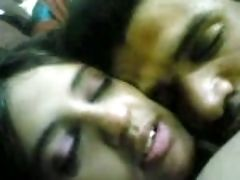 Perverted And Blessed Indian Dark Haired With Big Tits Is Fond Of Sucking Dick