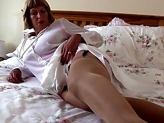Sexy Grandma With Big Tits And Greedy Cunt