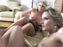 Blonde Samantha Jolie Flashes Her Assets Parts As She Gets Tongue Fucked By Girl-on-girl Ewe Sweet