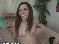Horny Sex Industry Star Ember Stone In Crazy Getting Off, Solo Nymph Pornography Scene