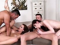 Dark Haired Is On The Way To Orgasm With Renato's Tongue In Her Twat
