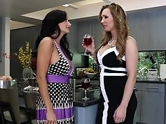 Exotic Pornographic Stars Ava Addams, Tanya Tate And Kelly Diamond In Crazy Big Tits, Girl/girl Adult Movie