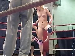 Blonde Vs Blonde Naked Featuring Nikky Thorne And Nataly Von
