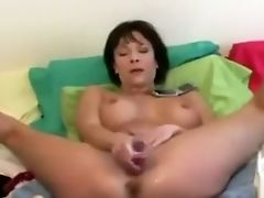 Horny Homemade Movie With Playthings, Big Tits Scenes