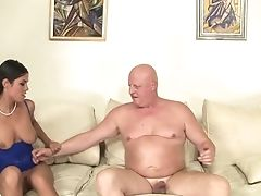 Nubile Gets Her Mouth Attacked By Fellow's Sturdy Sausage