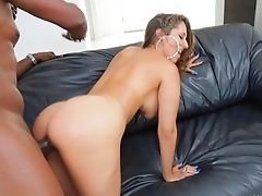 Lex Steele Uses His Sturdy Meat Stick To Make Bj Junkie Brown-haired Reena Sky With Hefty Knockers Glad