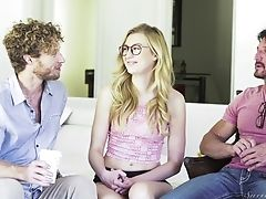Blonde Luvs Deep Coochie Pounding In Gonzo Hook-up Activity With Michael Vegas