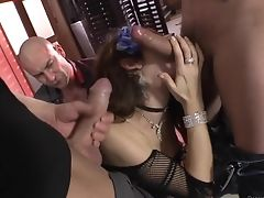 Well-experienced Sweetie Is Horny As Hell And Fucks With Wild Enthusiasm In This Ass Fucking Act