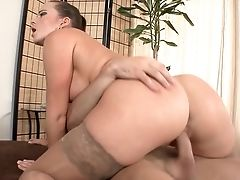 Black-haired Cindy Buck With Immense Breasts Loses Manage In Fucking Madness
