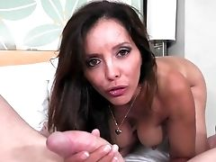 Mark Wood Gets Revved On By Black-haired Chachita Francesca Lle With Giant Hooters And Then Fucks Her Mouth