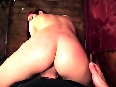 Teenager With Big Breasts Cant Wait To Be Slammed In The Rump By Her Horny Fuck Pal