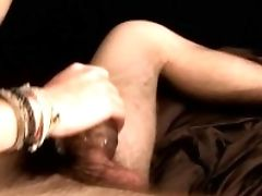 Fleshlight Plower Zack Randall Gives Self Facial Cumshot After Solo