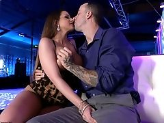 Big Boobed Hoe Brooklyn Chase Fucked In A Club In A Rear End Position