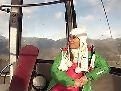Ski Hasen Gondel Geblase